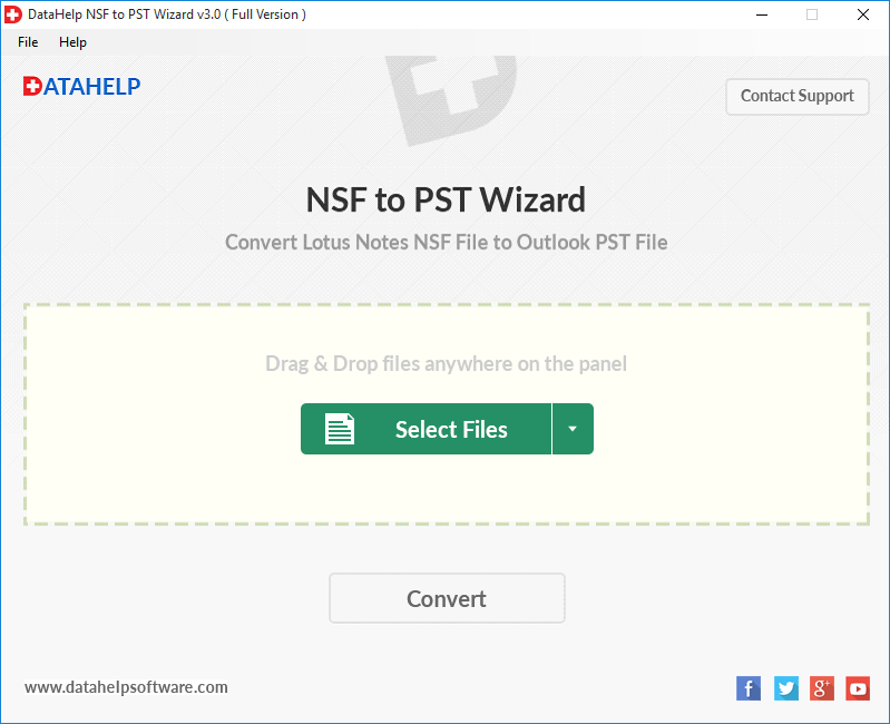 nsf to pst converter, convert nsf to pst, export nsf file to pst, lotus notes to outlook, migrate lotus notes to outlook